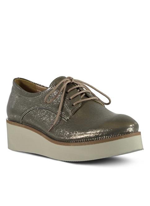 Marjin YR8Y-OSİL Kurşun  Kadın Günlük Ayakkabı
